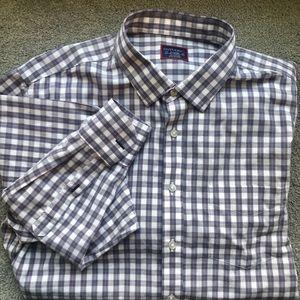 XL Men's Long Sleeve Button Up Shirt - UntuckIt